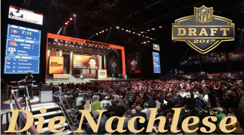 Die letzten News des NFL Drafts 2017