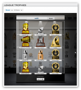 Pokale Fantasy Football Trophies