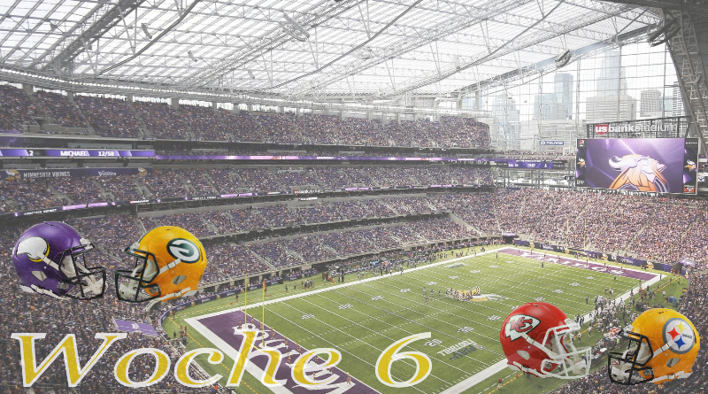 Vikings Packers Chiefs Steelers NFL #ranNFL