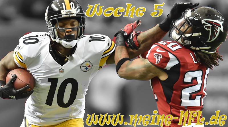 #ranNFL Steelers Falcons Rams Seahawks