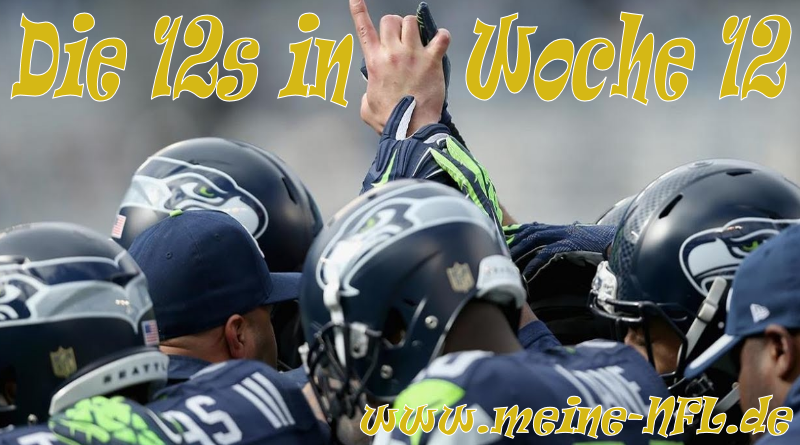 Woche 12 Seahawks Panthers