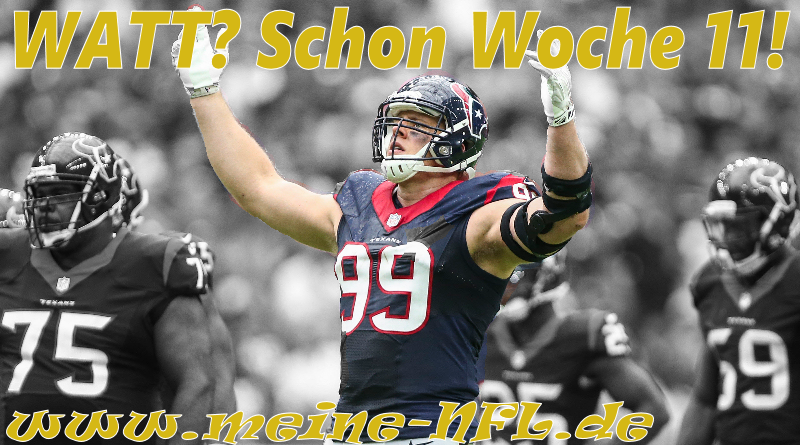 Woche 11 Houston Washington NFL