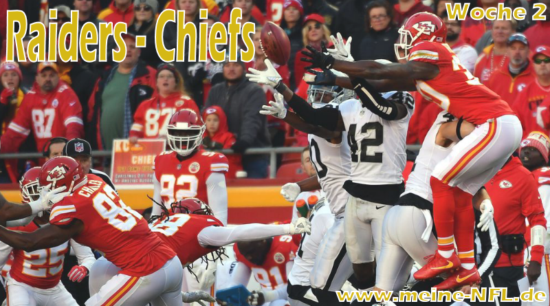 Raiders Chiefs NFL100