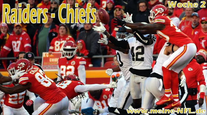 Raiders Chiefs NFL100