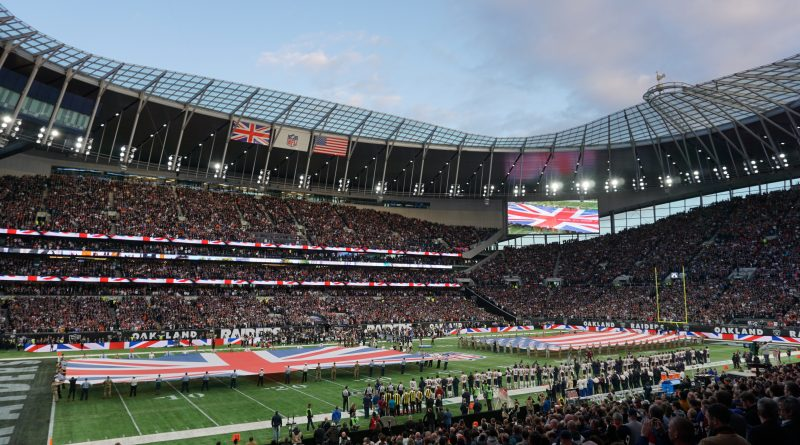London NFL Tottenham Bears Raiders