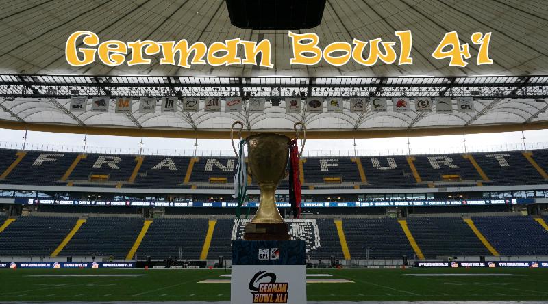 Frankfurt Lions Unicorns German Bowl 41