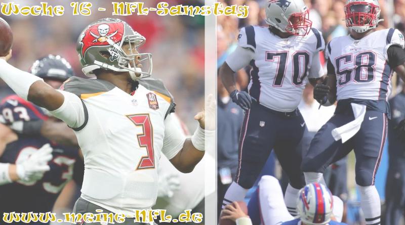 Woche 16 DAZN Bills Patriots Buccs Texans