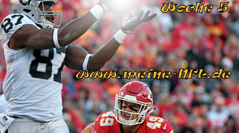 chiefs Raiders NFL Week 5
