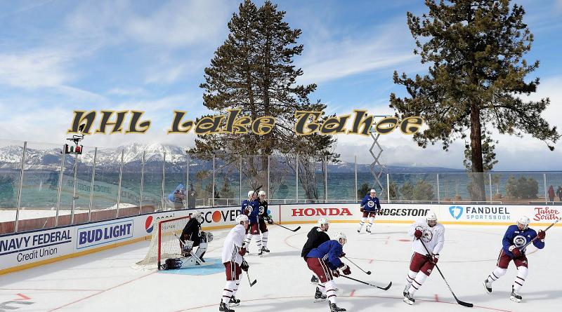 Outdoor Hockey Eishockey